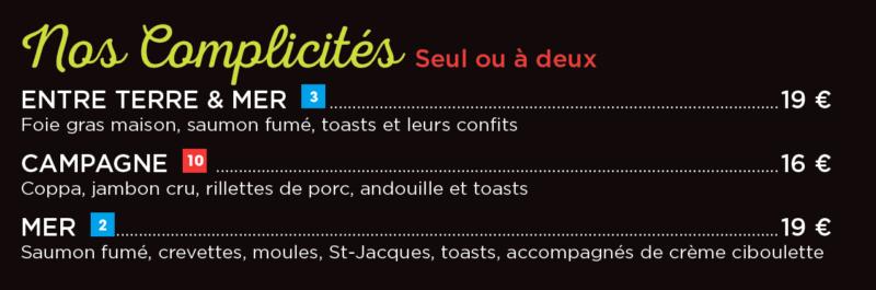 Les complicités du restaurant césar à langueux