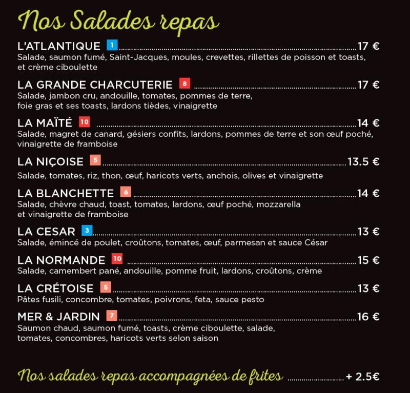 salades retaurant César de Langueux