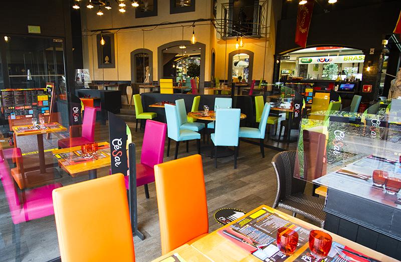 Salle de restaurant cesar à langueux