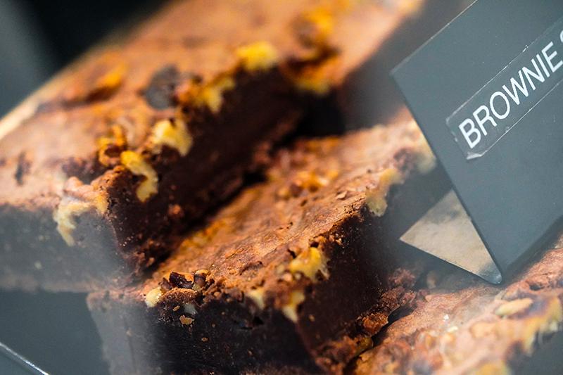 brownies à l'espace gourmand cesar restaurant
