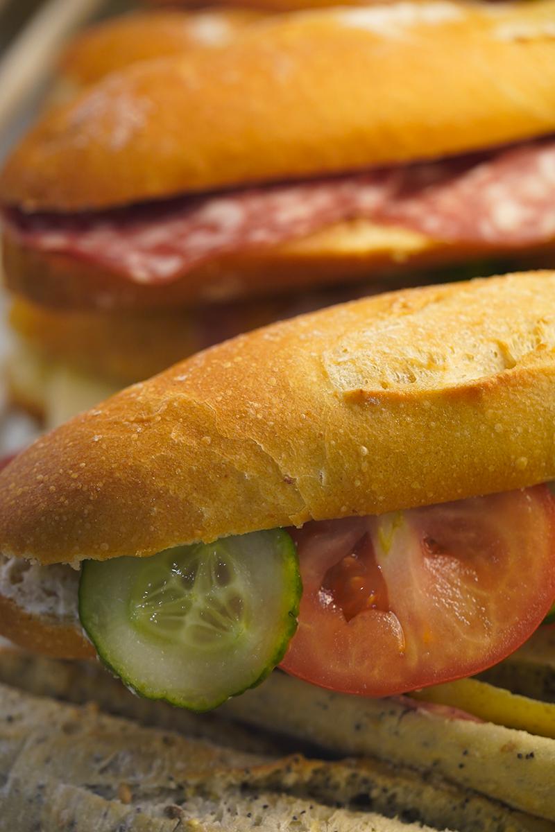 sandwich baguettes fraiche langueux