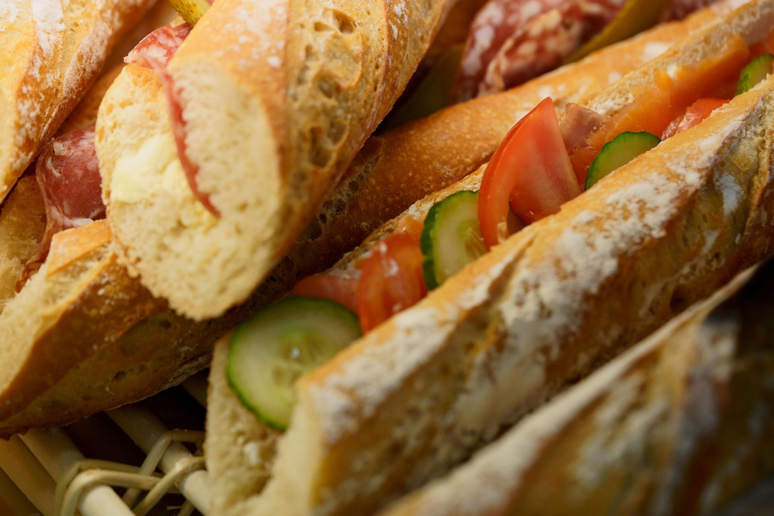 sandwich baguette cesar langueux